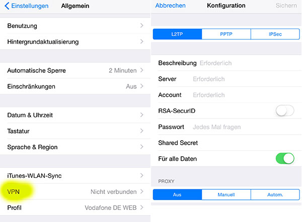 iPhone Tricks Amazon Video im Ausland schauen