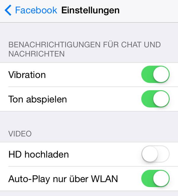 Autoplay auf dem iPhone nur über WLAN