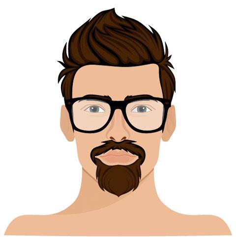 Spitzbart Barttrend