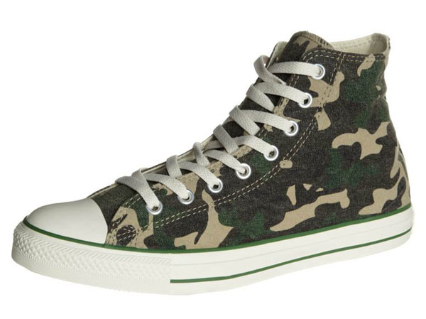 Converse CHUCK TAYLOR ALL STAR HI GRAPHICS CANVAS - Sneaker high - camouflage