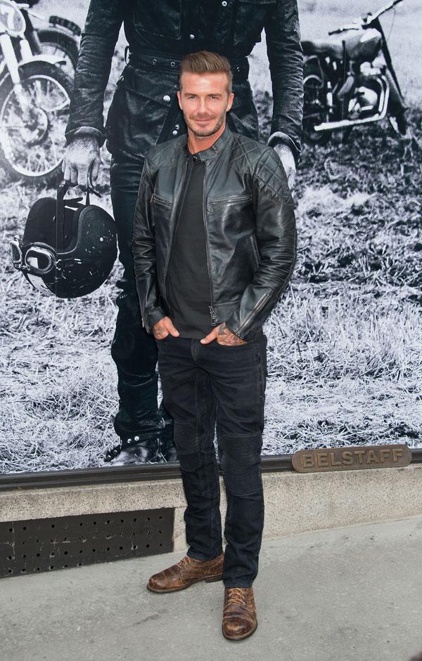 Immer den perfekten Look: David Beckham