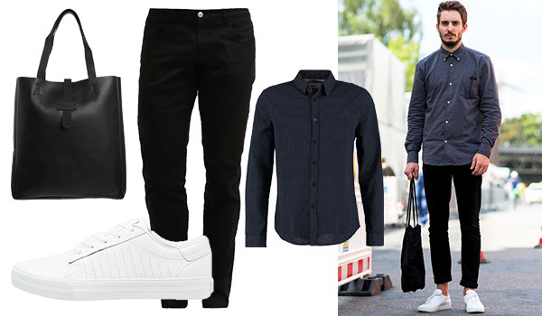 Street Style Easy Going