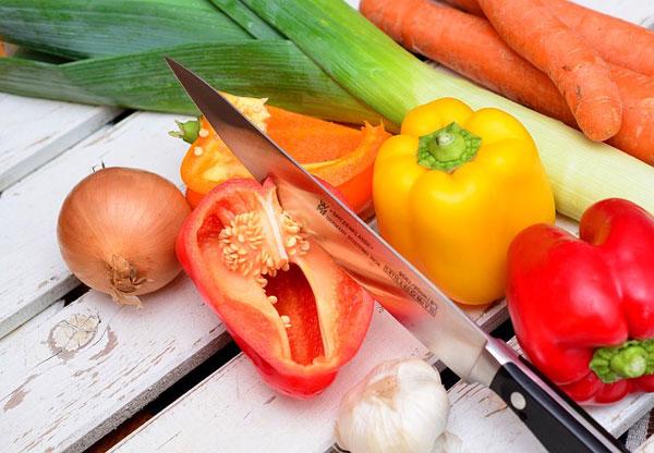 Versorge deinen Körper mit gesunder Nahrung