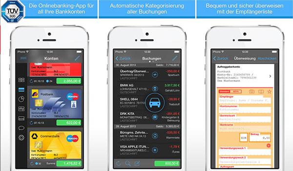 finanzblick app online banking