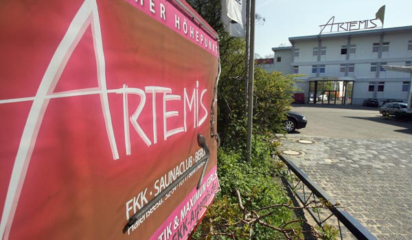 Der FKK Club Artemis in Berlin expandiert