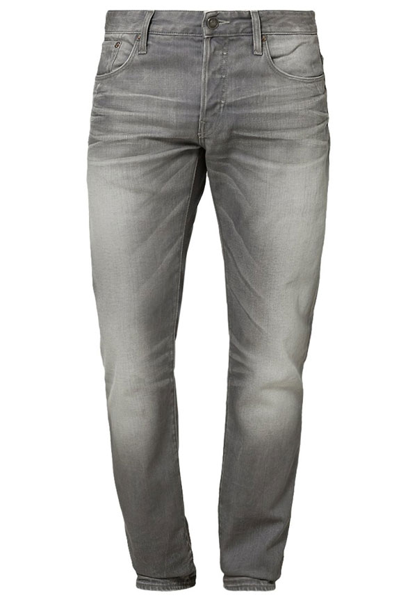 G-Star 3301 LOW TAPERED - Jeans Slim Fit - light aged