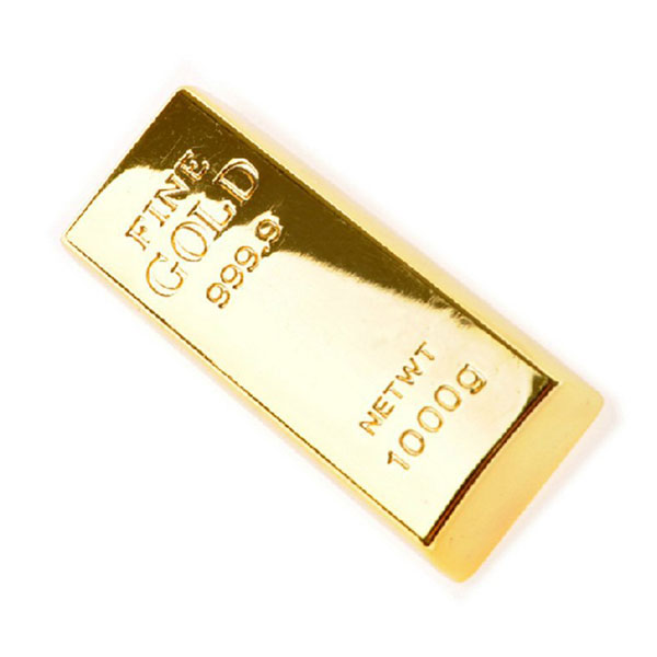 SUNWORLD Goldbarren USB 2.0 Stick 16GB USB Speicherstick