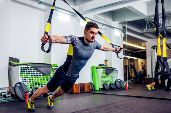 TRX-Training Fitnessstudio