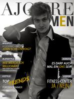 AJOURE Men Cover Monat Juni 2014 - Jörn Schlönvoigt