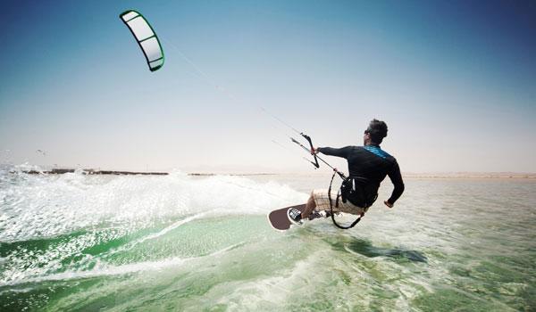 Kitesurfen Trendsport Sommer
