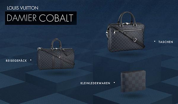 Damier Cobalt