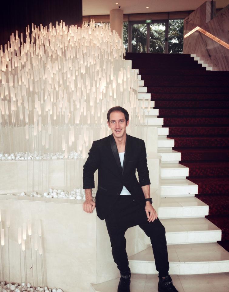 Luxusmakler Marcel Remus im Look der Woche