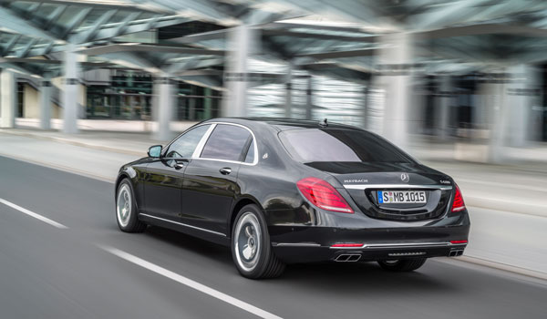 Mercedes-Maybach S 600, Exterieur