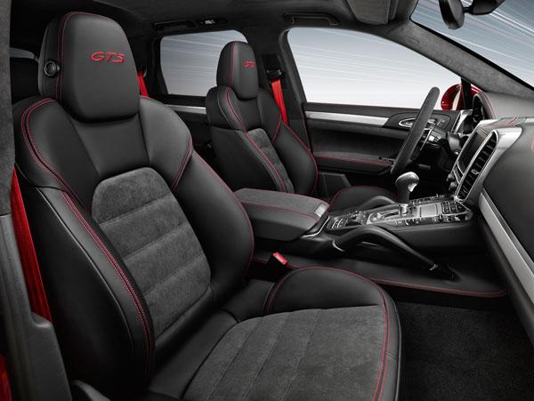 Porsche Cayenne GTS Innenansicht