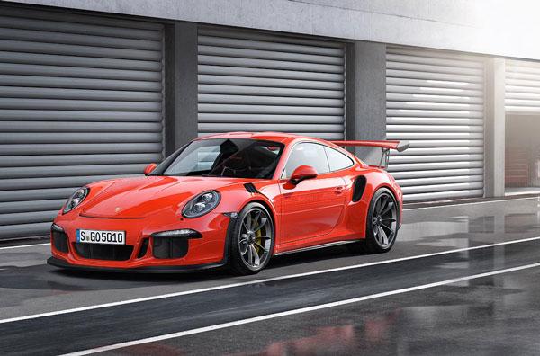 Porsche GT3 RS Front / Seite