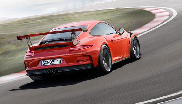 Porsche GT3 RS Heckansicht