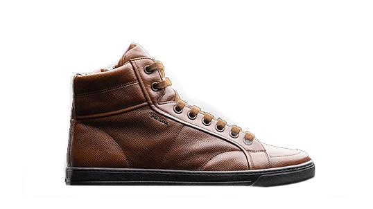 Männerschuh prada-ROSENHOLZ+SCHWARZ-sneaker