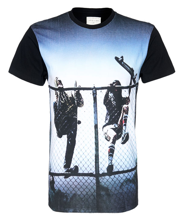 Manuel Cortez print-shirt