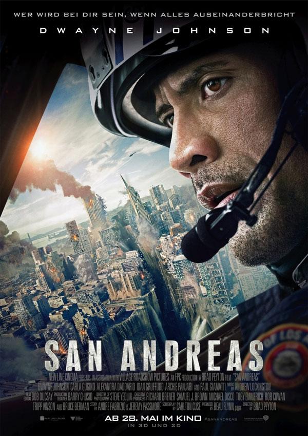 Der Hubschrauber-Pilot Dwayne Johnson kämpft sich in San Andreas durch Schutt und Asche, um seine Tochter zu retten.