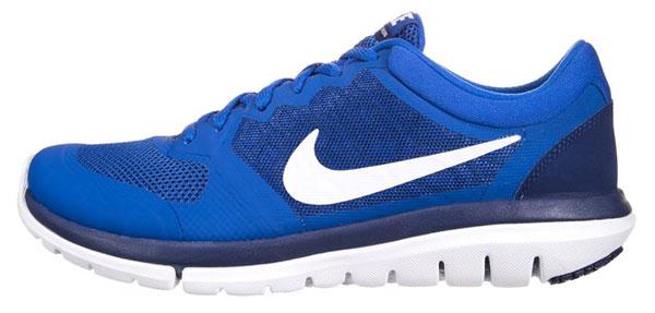 Nike Performance FLEX 2015 RUN - Laufschuh Dämpfung - lyon blue/white/deep royal blue  84,95 €
