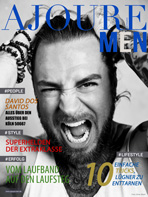 AJOURE Men Cover Monat September 2014 - David Dos Santos