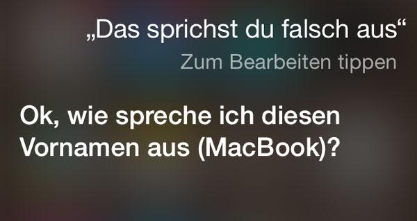 Siri du sprichst das falsch aus.