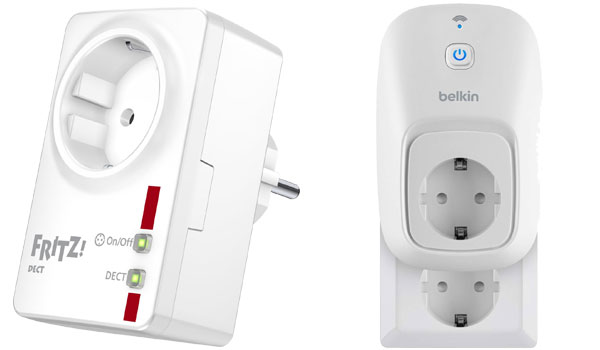 Smart Home Geräte ohne Installation: Fritz AVM DECT & Belkin WeMo Switch