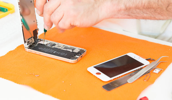 Smartphone Display reparieren