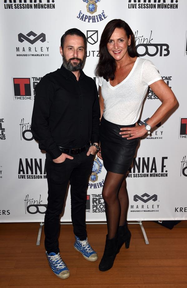 Tobias Bojko (CEO AJOURE´), Patrizia Schueler (Head of Entertainment Getty Images)