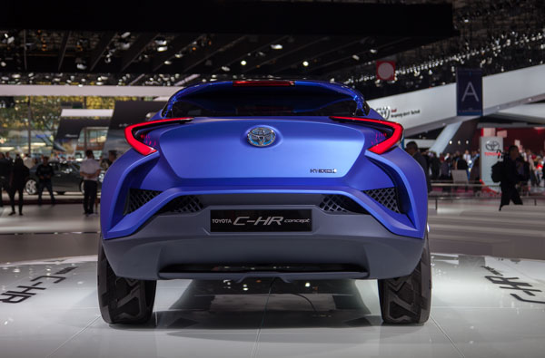 Toyota C-HR Rückansicht