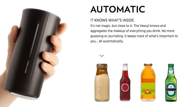 Jedes Getränk wird automatisch analysiert und erkannt.