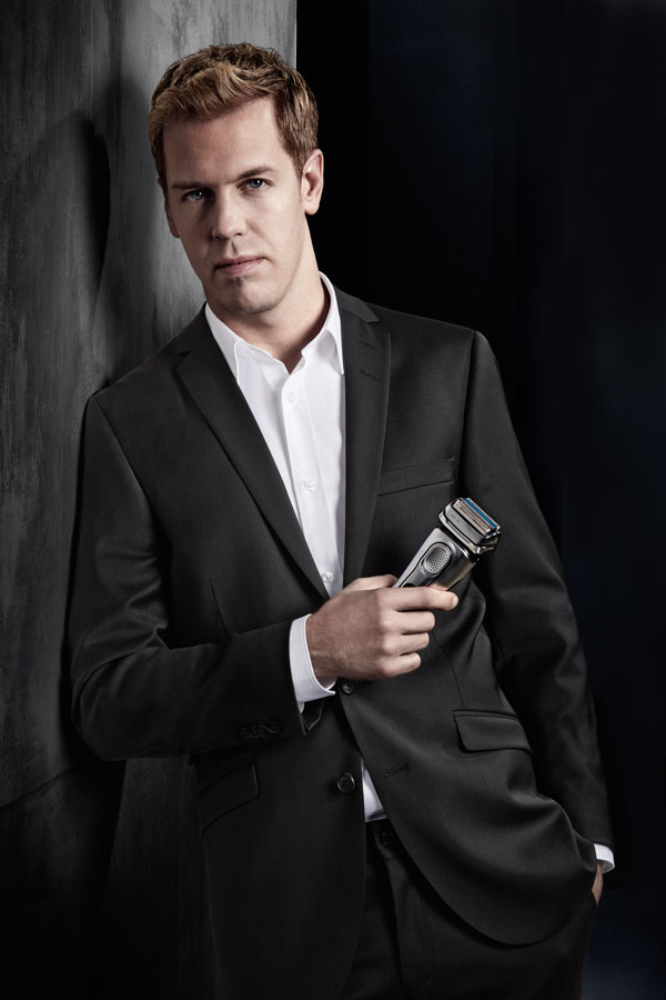 Sebastian Vettel ist aktuelles Testimonial von Braun