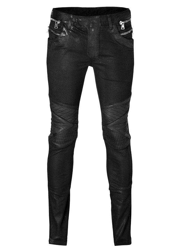 BALMAIN Coated-Jeans im Biker-Stil - € 1.159
