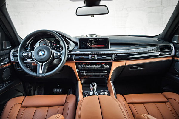 BMW X6M Innenraum