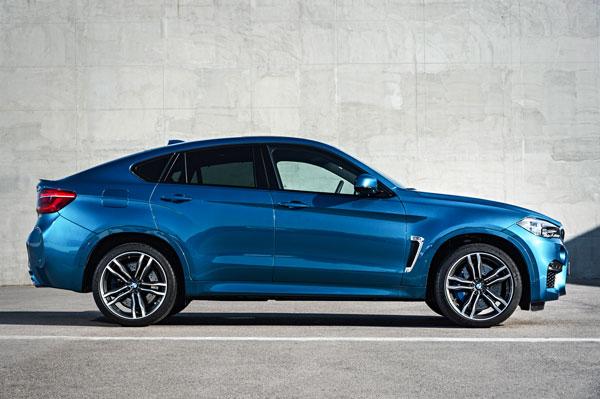 BMW X6M Profil