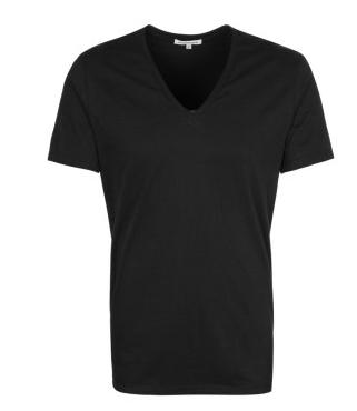 Sami Slimani schwarzes v shirt