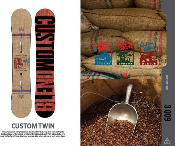 Snowboard Custon Twin