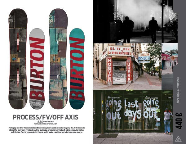 Snowboard Process Axis