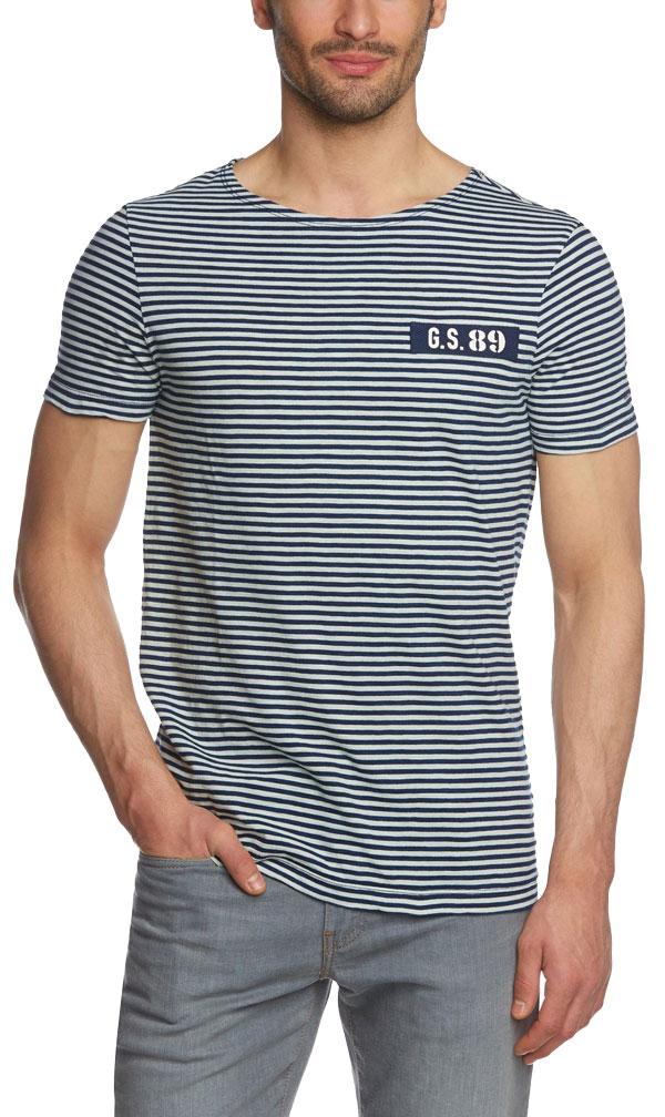 G-STAR Herren T-Shirt Volta Indigo R T S/S - 39,90 €
