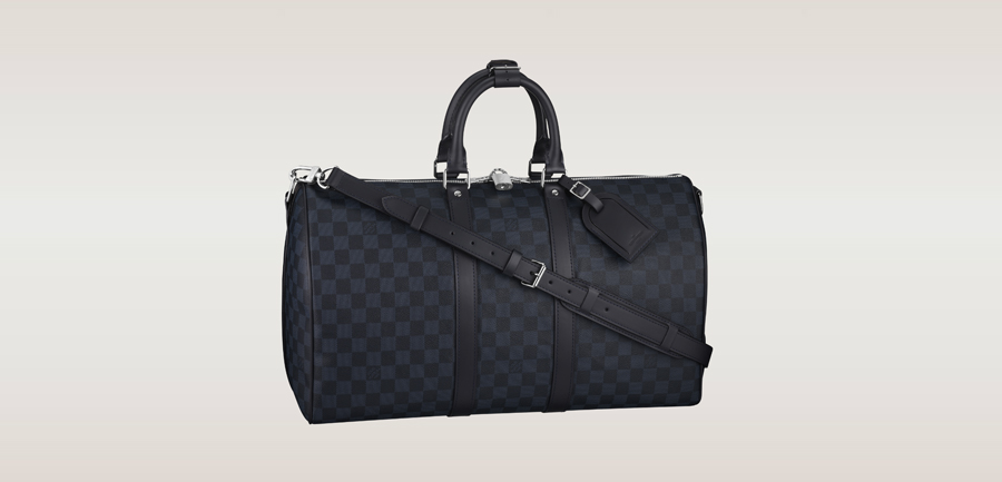 Damier Cobalt Keepall-45-mit-Schulterriemen-louis-vuitton-kollektion