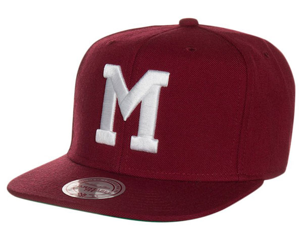 Mitchell & Ness MONTREAL MAROONS - Cap - burgundy