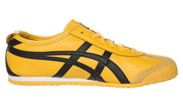 Onitsuka Tiger MEXICO 66 - Sneaker - yellow/black
