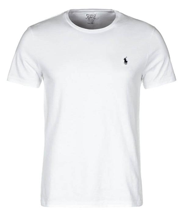 Polo Ralph Lauren CUSTOM FIT - T-Shirt basic - white - 48,95 €