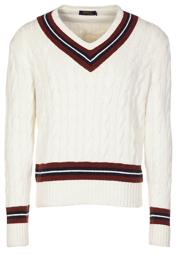 Polo Ralph Lauren Strickpullover - cream/navy/wine