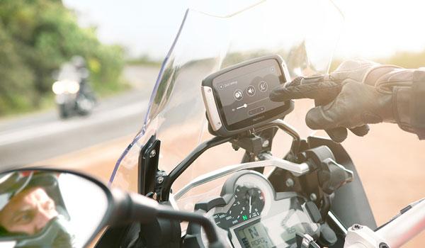 TomTom Rider Bedienung auch mit Motorradhandschuhen