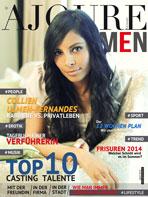 Ajouré Cover Monat April 2014 - Collien Fernandes