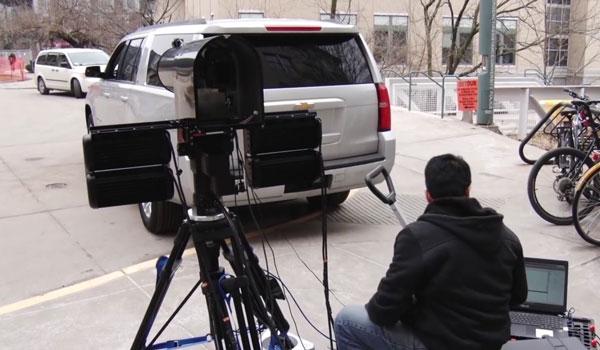 biometrische Kamera für die Polizei
