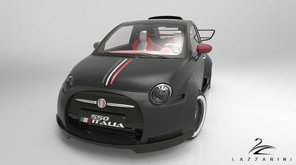 FIAT 500 von Pierpaolo Lazzarini