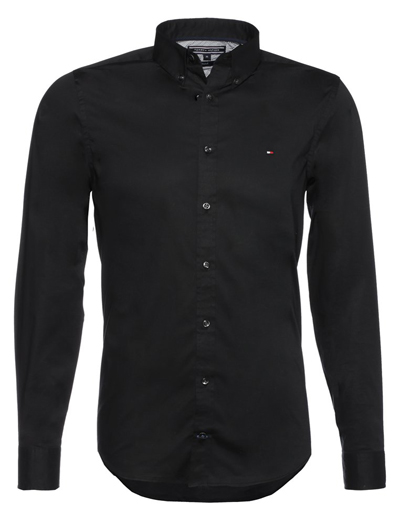 hemd schwarz hilfiger