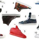 Diese High Top Sneakers sorgen für Abwechlsung